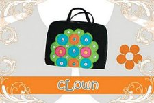 tas laptop clown