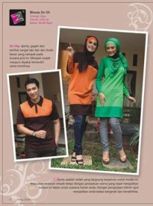 blouse muslimah -zn-54