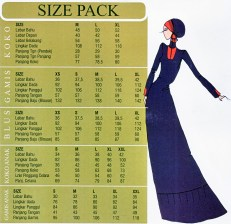 Tabel Size Azka Collection