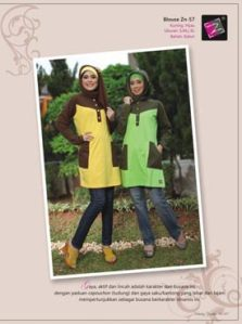 blouse muslim women-zn-57