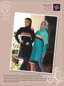 blouse muslimah terkini -zn-59