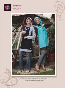 blouse muslimah terkini-zn-60