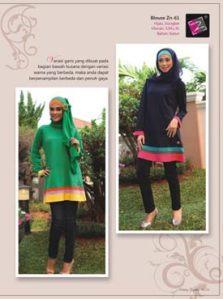 blouse muslimah trendy -zn-61