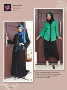 blouse muslimah cantik -zn-62