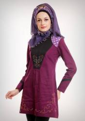 Blus Azkasyah 18 Ungu Grape