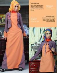 Gamis Blus Nurrin Emerald Sweet Potato