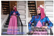 Gamis-Pesta-Ballery-Dusty-Pink