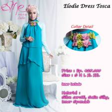 gamis modern elodia tosca 425rb