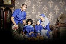 sarimbit keluarga muslim azka-19 biru electrys