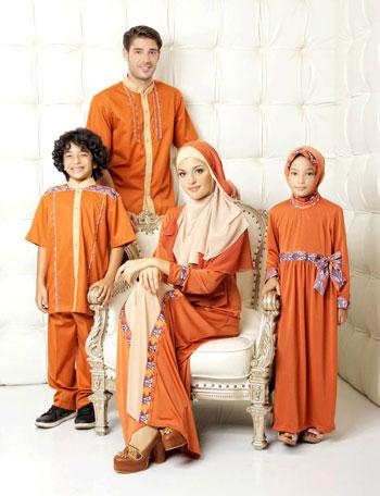 sarimbit keluarga muslim azka-19 safety oren