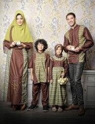 sarimbit keluarga muslim azka-22 coklat