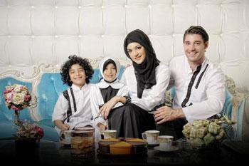 sarimbit keluarga  muslim azkasyah 20 white