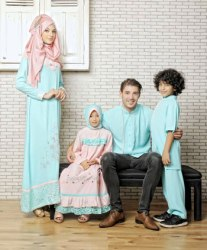 sarimbit keluarga muslim azkasyah 21 green pastel